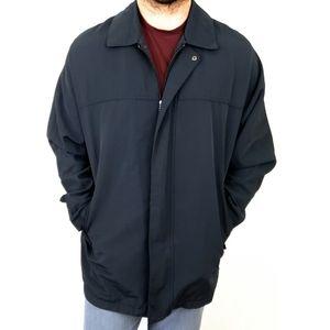 Eddie Bauer Men's Light Full Zip Vintage Jacket LG